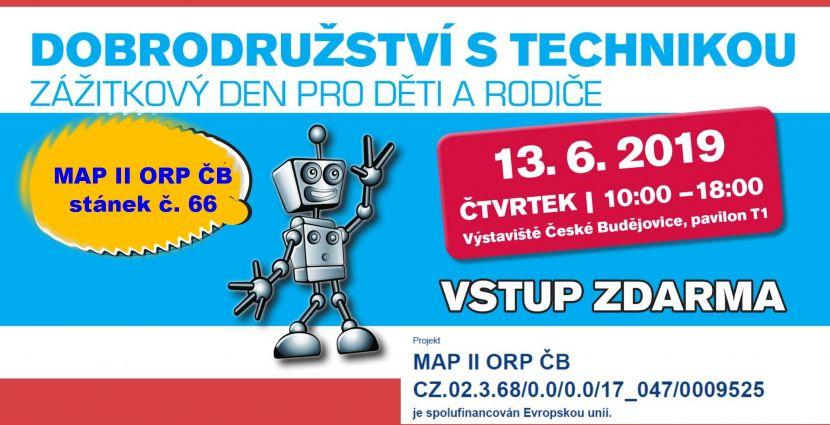 Pozvánka nastánek MAP II ORP ČB