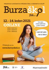 Jihočeská BURZA STŘEDNÍCH ŠKOL 2021 online